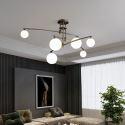Magic Bean Chandelier Glass Pendant Light Bedroom Living Room 1954