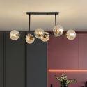 6 Light Modern Glass Ceiling Light Magic Bean Light Fixture Bedroom Living Room 1938