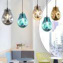 Colorful Pendant Light Soap Bubble Glass Ceiling Light Kitchen Island Lamp