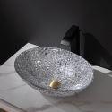 Oval Glass Wash Basin Bowl