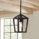 Retro Single Lamp Wood Pendant Light Hallway Bedroom Light SR40091