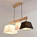 Modern Wood Pendant Light Simple Style Ceiling Light HZDD00215