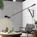 Single Rocker Arm Wall Light Bedside Reading Sconce Lamp B0121