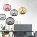 Single Lamp Lantern Pendant Light Simple Style Light Fixture DK8103