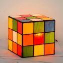 Creative Rubik's Cube Table Lamp Glass Desk Lamp TY359