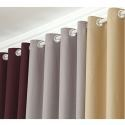 Window Curtains for Living Room Modern Simple Thicker Linen Blackout Curtains Advanced Customization (One Panel)