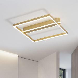 Acrylic LED Square Flush Mount Ceiling Light MXD010
