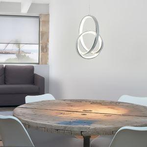 LED Irregular Ring Pendant Light Bedroom Living Room mys009