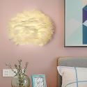 Creative Feather Wall Lamp Decorative Sconce Light mys039