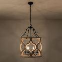 Vintage Style 4-Light Lantern Pendant Light QMJC40004