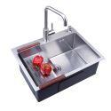 Handmade Stainless Steel Kitchen Sink Single Bowl 6045