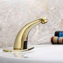 Infrared Sensor Basin Tap Single Hole Touchless Cold Faucet