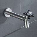 Stainless Steel Tap Mop Pool Laundry Sink Cold Water Faucet
