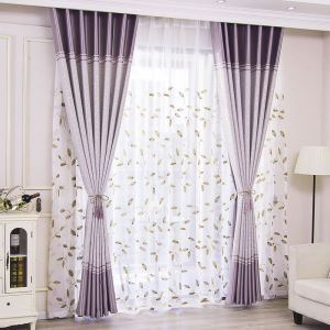 Blackout Curtain Polyester Europe Style Window Treatment (One Panel)