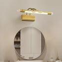 LED Wall Lamp Brass Horizontal Mirror Front Light JQ3358