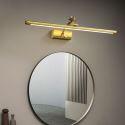 LED Wall Lamp Brass Bird Horizontal Mirror Front Light JQ3353