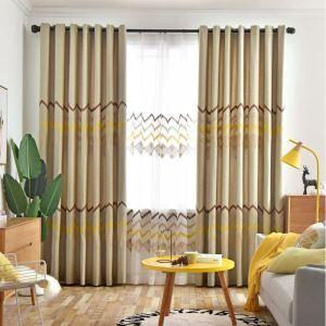 Modern Curtain Wave Window Treatment (One Panel)
