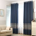 Blackout Curtain Polyester Europe Style Curtain (One Panel)