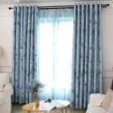 Blackout Curtain Polyester Minimalist Style Window Curtain (One Panel)