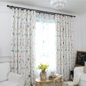 Blackout Curtain Polyester Raindrop Printing Curtain (One Panel)