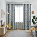Blackout Curtain Polyester Animal Patterns Kids Room Curtain (One Panel)