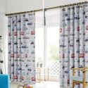 Blackout Curtain Polyester Cars Pattern Kids Room Curtain (One Panel)