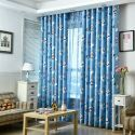Blackout Curtain Polyester Cartoon Printed Kids Room Curtain (One Panel)