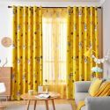 Blackout Curtain Polyester Cartoon Printed Curtain Kids Room (One Panel)