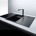 Invisible Kitchen Sink Stainless Steel Single Bowl Sink with Tap 6848
