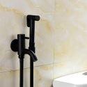 Black Brass Bidet Faucet Cold Tap