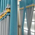 Modern Curtain Solid Color Home Curtain (One Panel)