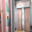 Modern Curtain Lovely House Embroidery Curtain (One Panel)