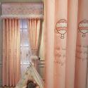 Modern Curtain Cartoon Embroidery Lovely Princess Curtain (One Panel)