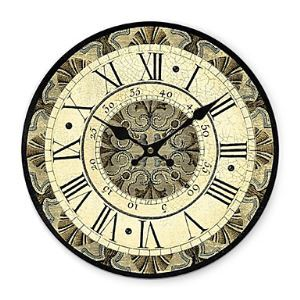 (In Stock) Industrial Age Wall Clock