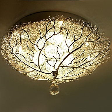 Flush Mount With 10 Lights Tree Featured