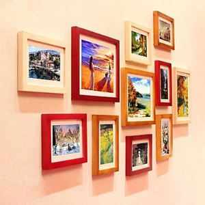 Modern Photo Wall Frame set Collection-Set of 11 PM-11Aa(Pictures Not Included)