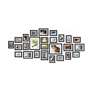 Modern Photo Wall Frame set Collection-Set of 26 PM-26A b(Pictures Not Included)