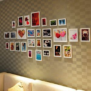 Modern Photo Wall Frame set Collection-Set of 28 PM-28A a(Pictures Not Included)