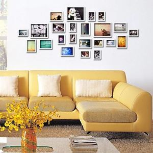 Photo Wall Frame set Collection-Set of 23 FZ-023-2(Pictures Not Included)