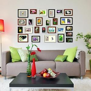 Photo Wall Frame set Collection-Set of 25 FZ-025-1(Pictures Not Included)