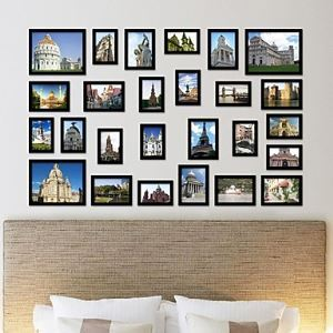 Photo Wall Frame set Collection-Set of 26 FZ-2026(Pictures Not Included)