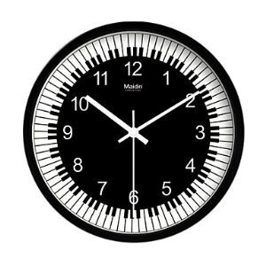 Piano Theme Classic Style Wall Clock