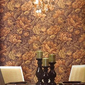 Venus Country Classcial Roma Floral Wallpaper 5 Colors