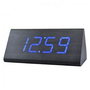 (In Stock) Voice Control LED Prism Led Alarm Clock
