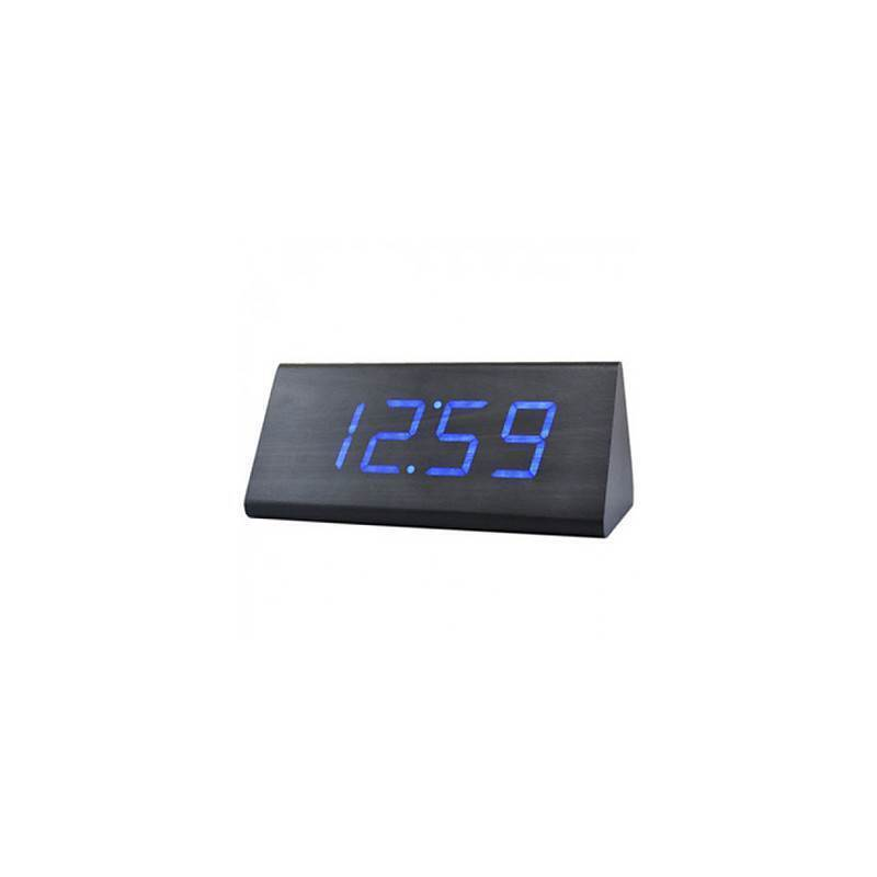 Voice Control LED Prism Led Alarm Clock - from $76.99