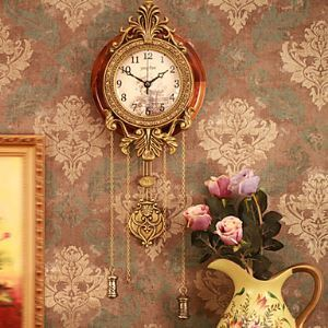 Wood Antique Inspired Wall Clock