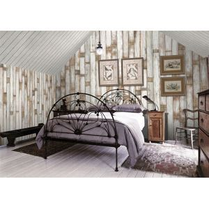Contemporary Wood Panel Non-Woven Paper Wall Paper