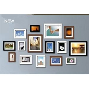 Photo Wall Frame set Collection-Set of 15 FZ-2015(Pictures Not Included)