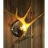 Show details for Artistic Antler Featured Wall Light with 1 Light