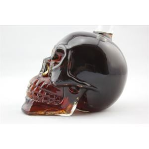 Skull Shot Glass Wine Bottle